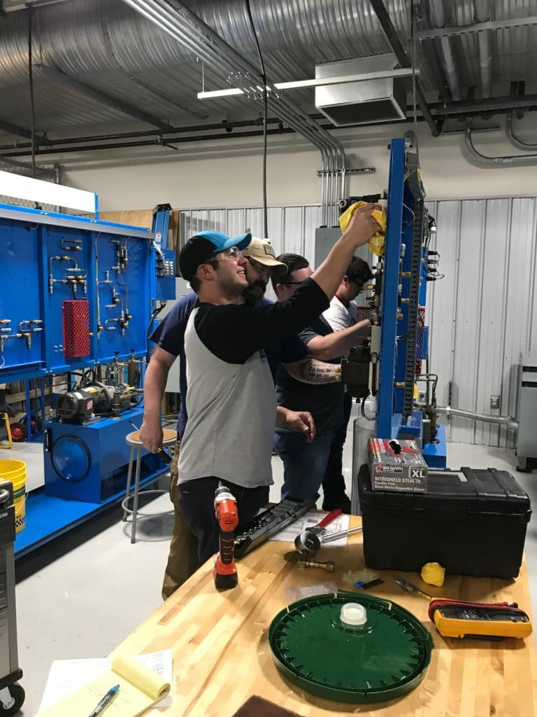 Grayson College CWL with electrician training