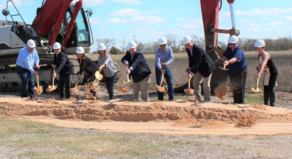 Ground breaking for newest phase of Industrial Park in Van Alstyne